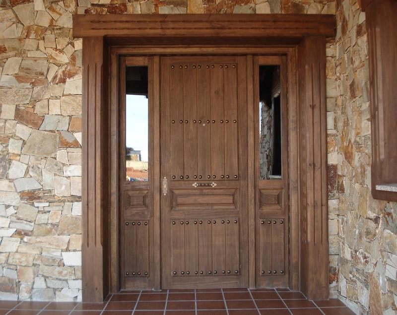 Puertas entrada exterior with puertas entrada exterior for Puertas rusticas baratas
