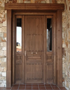 Rustic home on pinterest casa de campo english cottages - Puertas entrada rusticas ...