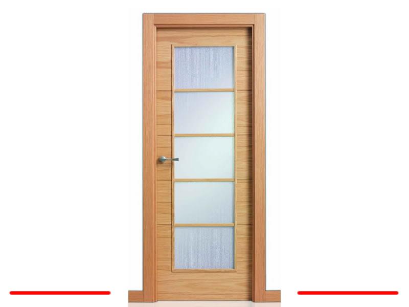 Pin puertas interior paso modernas genuardis portal on for Puertas de roble