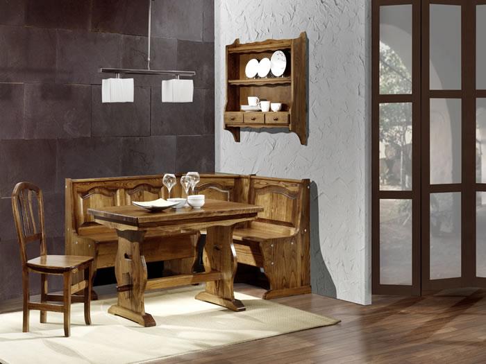 Especialistas en rinconeras el sello de la casa loramu - Rinconeras de madera ...