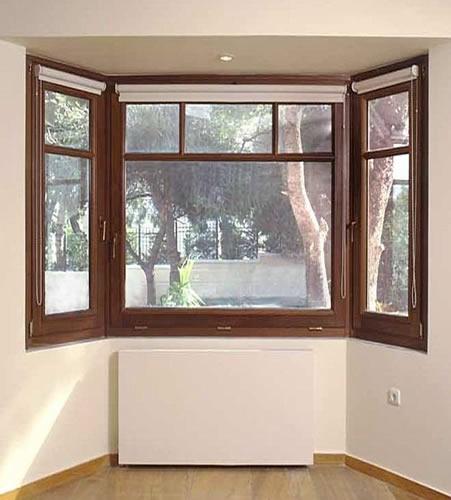 ventanas de madera bellas seguras y resistentes