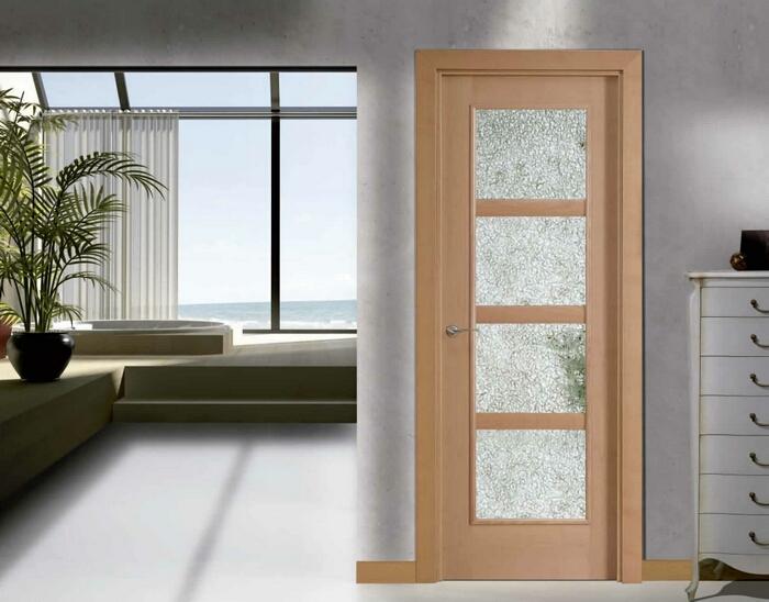 Cristal puerta salon vinilo translucido para puertas de - Puertas de salon con cristal ...